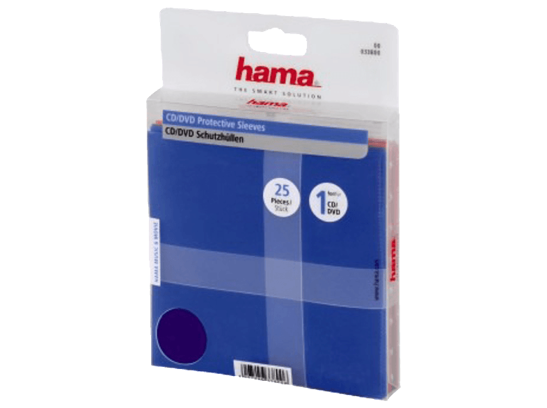 HAMA CD/DVD PP-SLE. 25 τμχ - (33800) cd  dvd  blu ray