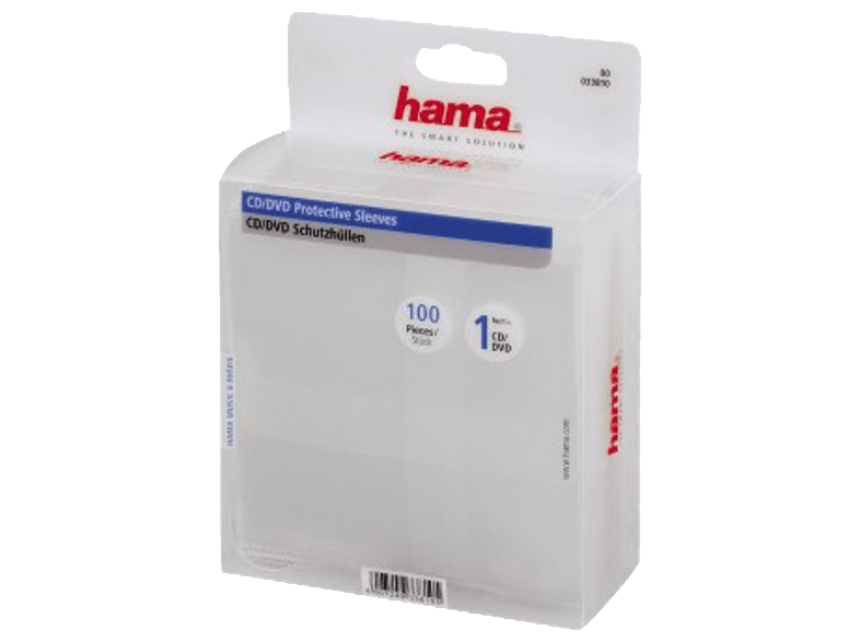 HAMA CD/DVD PP-SLE. 100 τμχ - (33810) cd  dvd  blu ray