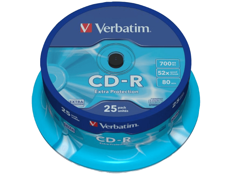 VERBATIM CD-R Extra Protection 25τεμ.- (43432) cd  dvd  blu ray