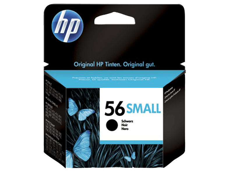 HP 56 Small Black - (C6656GE) μελάνια  toner