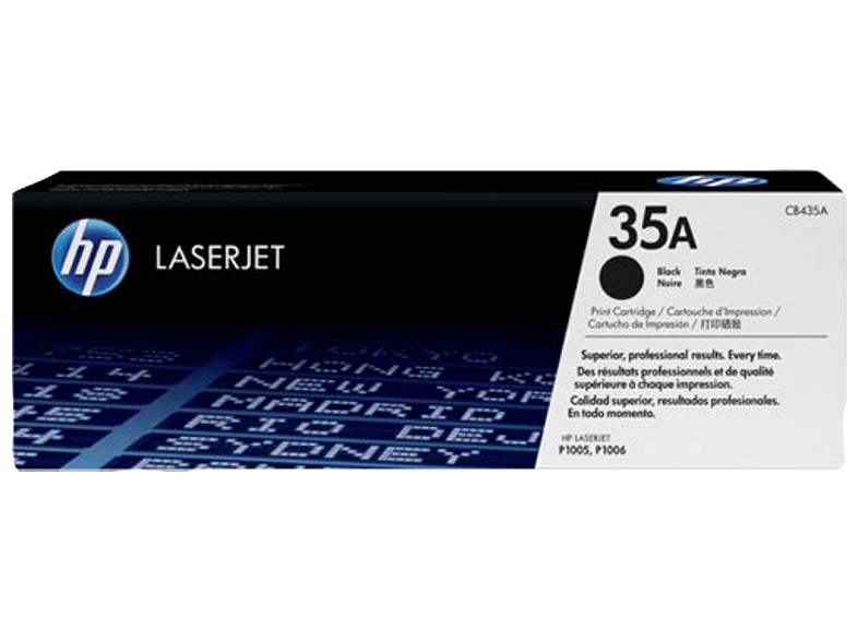 HP CB435A LJ P1005/1006 Black μελάνια  toner