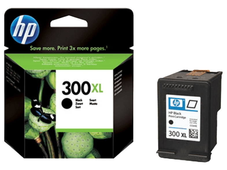 HP CC641E 300XL Black μελάνια  toner