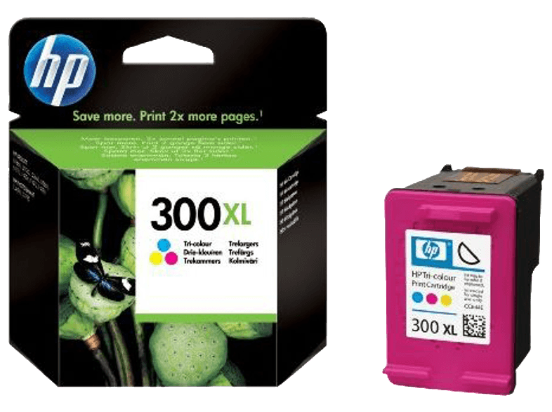HP 300XL Tri-colour Ink CC644E μελάνια  toner
