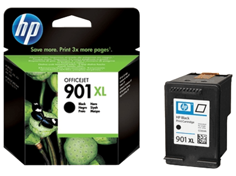HP CC654A 901XL Black μελάνια  toner