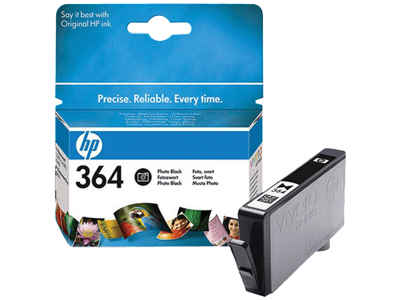 HP HP364 Photo Black - (CB317E) μελάνια  toner