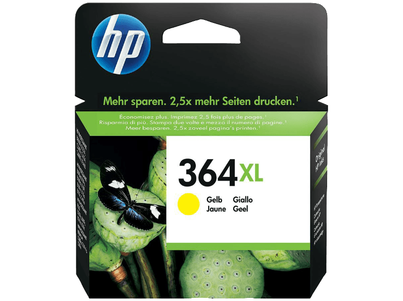 HP 364XL Yellow - (CB325E) μελάνια  toner
