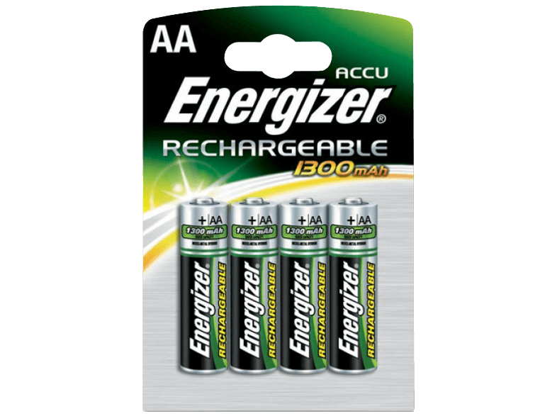 ENERGIZER RECHARGEABLE AA -1300mAh (HR6) μπαταρίες  φορτιστές
