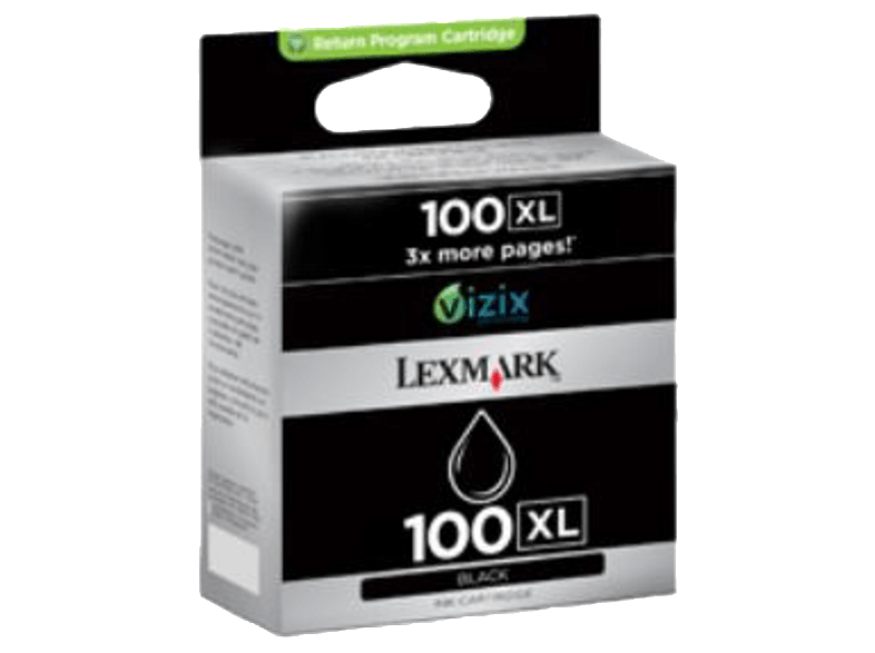 LEXMARK 14N1068 INK CRT Black 100XL μελάνια  toner