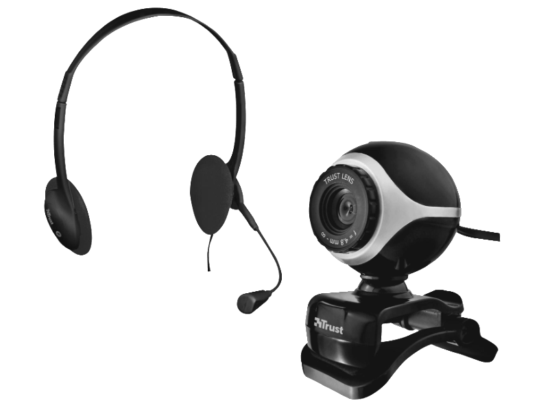 TRUST Exis Chatpack - Black 17028 webcam