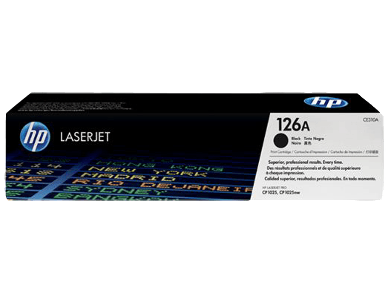 HP CE310A Black 126A μελάνια  toner