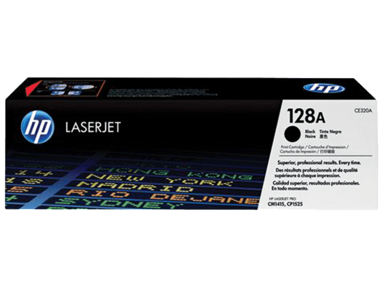 HP CE320A Black 128A μελάνια  toner