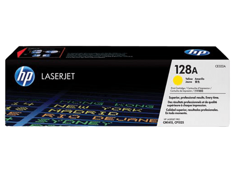 HP CE322A Yellow 128A μελάνια  toner