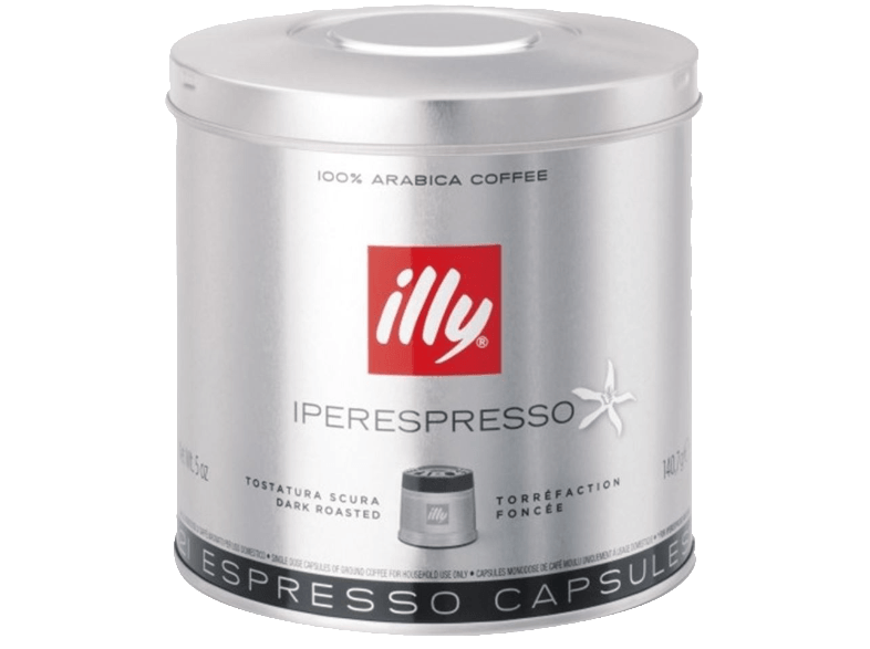 ILLY Iper Home Scuro 21 Κάψουλες - (01-04-0052) κάψουλες illy