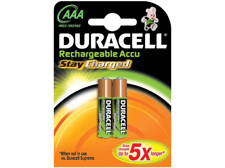 DURACELL Stay Charged AAA μπαταρίες  φορτιστές