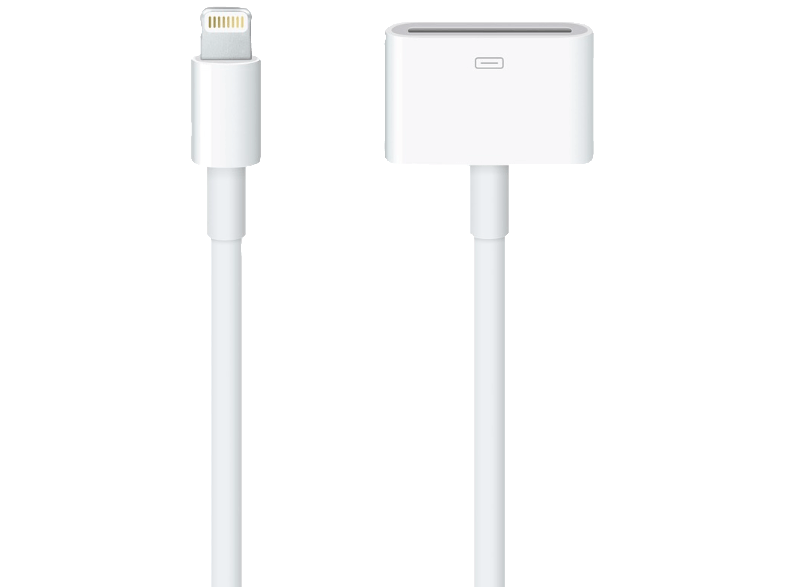 APPLE Lightning to 30-pin Adapter 0.2m - (MD824ZM/A) αξεσουάρ ipod  mp3  mp4