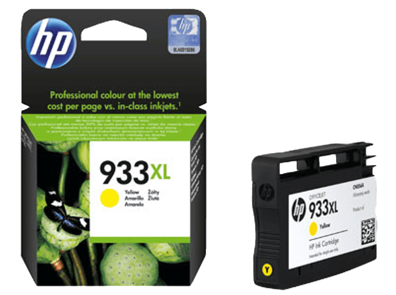 HP 933XL Yellow - (CN056AE) μελάνια  toner