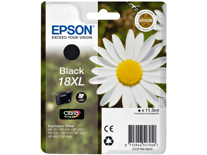 EPSON T181140 XP202 XL Black μελάνια  toner