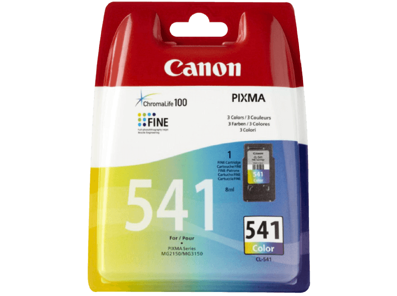 CANON CL-541 COLOUR μελάνια  toner