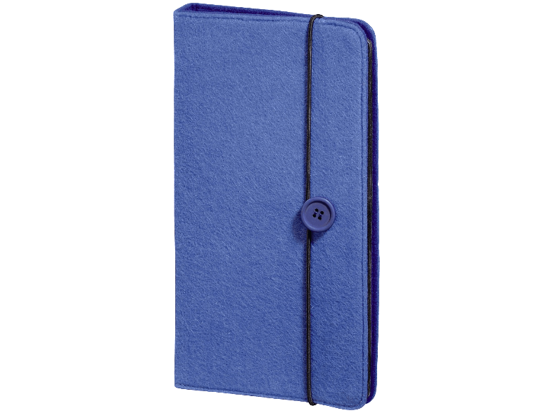 "HAMA ""Felt"" CD/DVD/Blu-ray Wallet 48 Βlue - (95677) cd  dvd  blu ray"