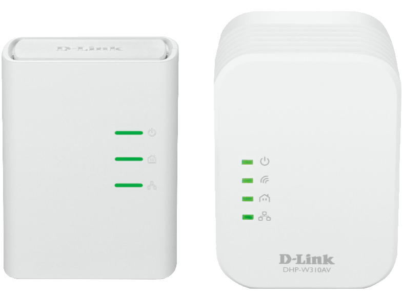 D-LINK PowerLine AV 500 Wireless N Mini Starter Kit - (DHP-W311AV) access point  router  range extender  switch