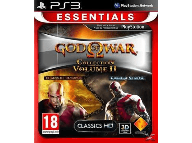 SONY SW God Of War: Collection Volume 2 (Essentials) ps3 games