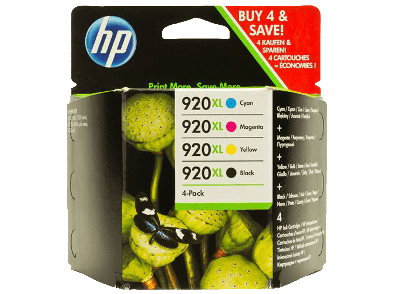 HP HP 920 XL Combo Pack - (C2N92AE) μελάνια  toner