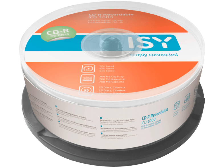 ISY ICD 1000 cd  dvd  blu ray