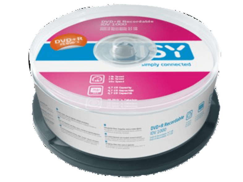 ISY IDV 1000 cd  dvd  blu ray