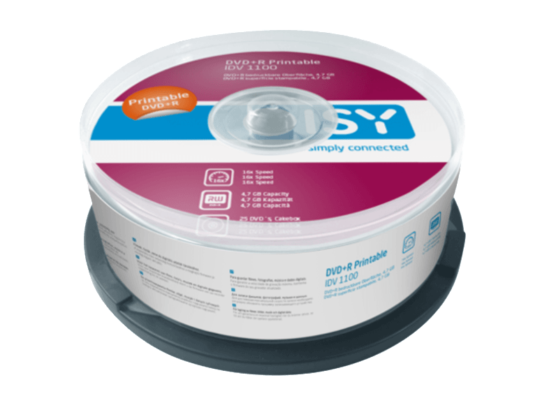 ISY IDV 1100 cd  dvd  blu ray