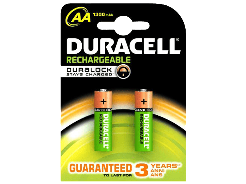 DURACELL Rechargeable 1300mAh AA - 2 τμχ - (81418228) μπαταρίες  φορτιστές