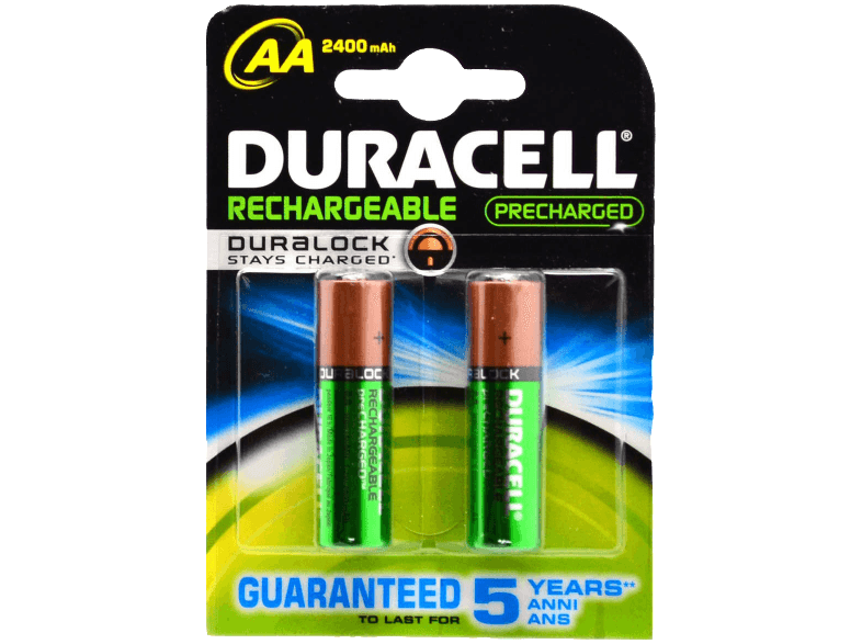 DURACELL Rechargeable 2400mAh AA - 2 τμχ - (81418235) μπαταρίες  φορτιστές