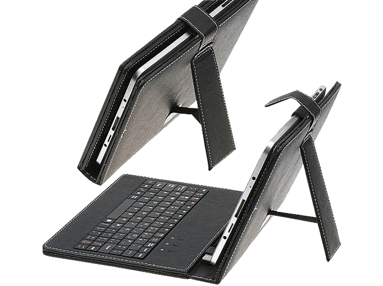 OMEGA Tablet Case 97  with Qwerty Keyboard Black   41657