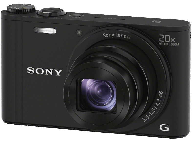 SONY DSC-WX350 Black compact cameras