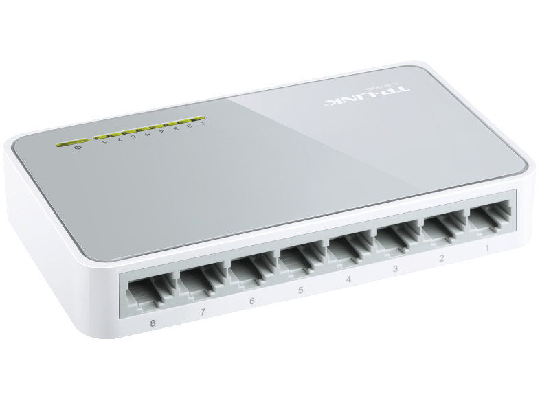 TP LINK TL-SF1008D access point  router  range extender  switch
