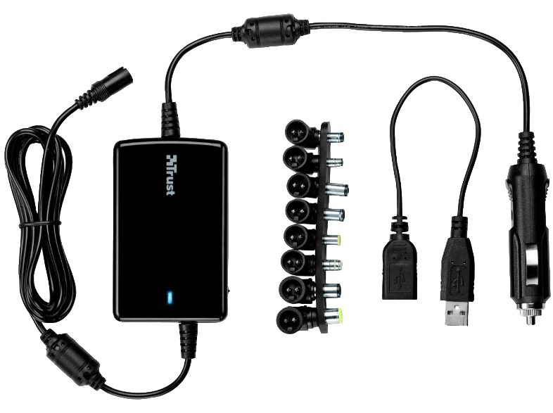 TRUST Laptop Charger UltraSlim with USB port 70W - 18065 φορτιστές laptop