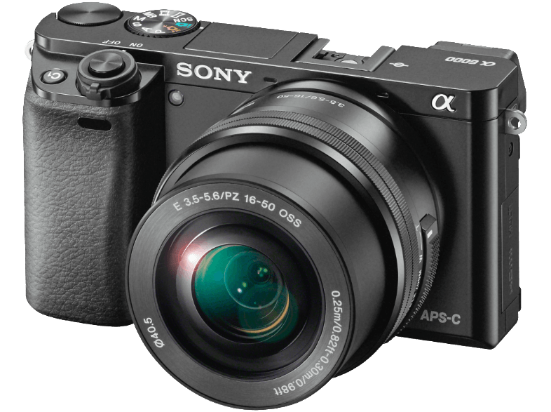 SONY Alpha 6000 με φακό 16-50 mm - (ILCE-6000LB) mirrorless cameras