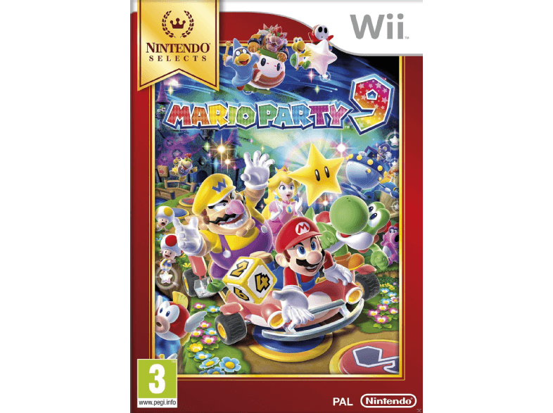 NINTENDO SW Selects: Mario Party 9 wii  wii u games