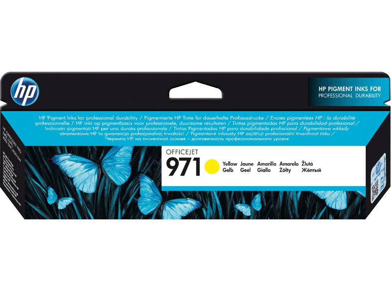 HP 971 Yellow - (CN624AE) μελάνια  toner