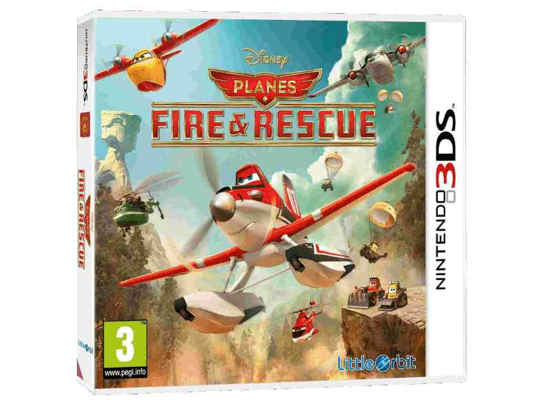 ENARXIS Planes: Fire & Rescue games 2ds  3ds