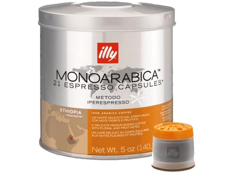 ILLY Iper Home Ethiopia Monoarabica 21 Κάψουλες - (01-04-0062) κάψουλες illy