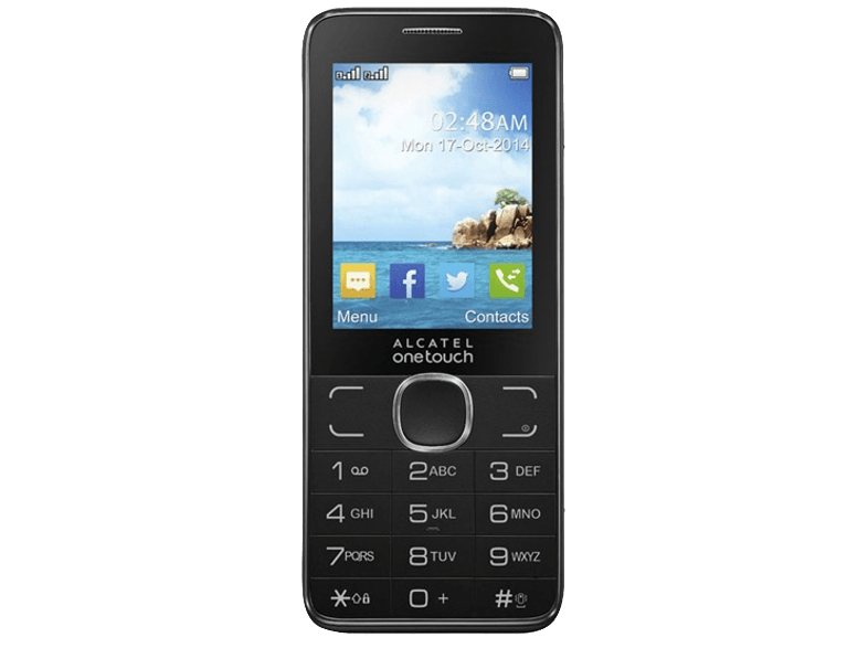 ALCATEL 2007D Dark Grey κινητά