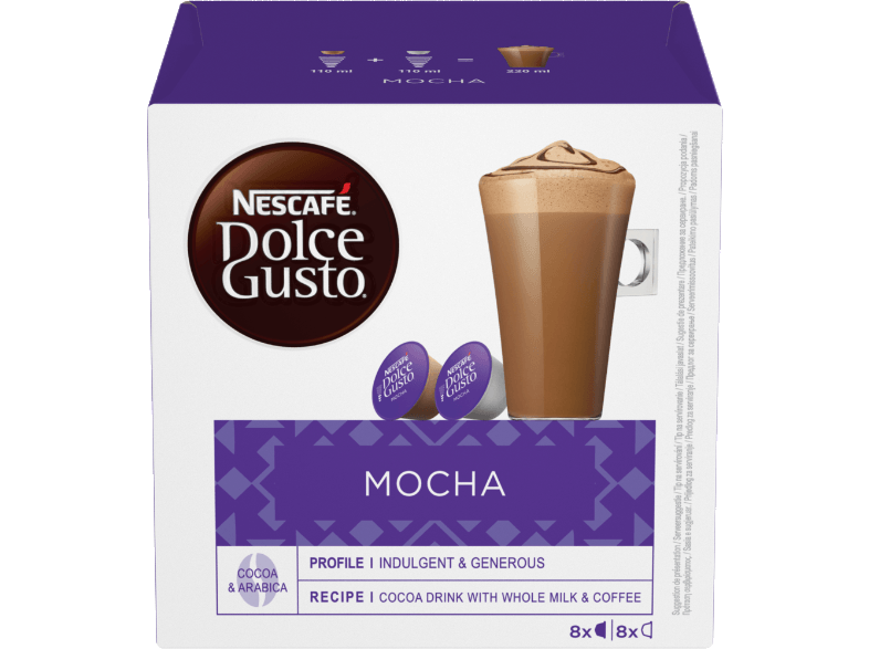 DOLCE GUSTO NESCAFE ΜΟCHA κάψουλες dolce gusto