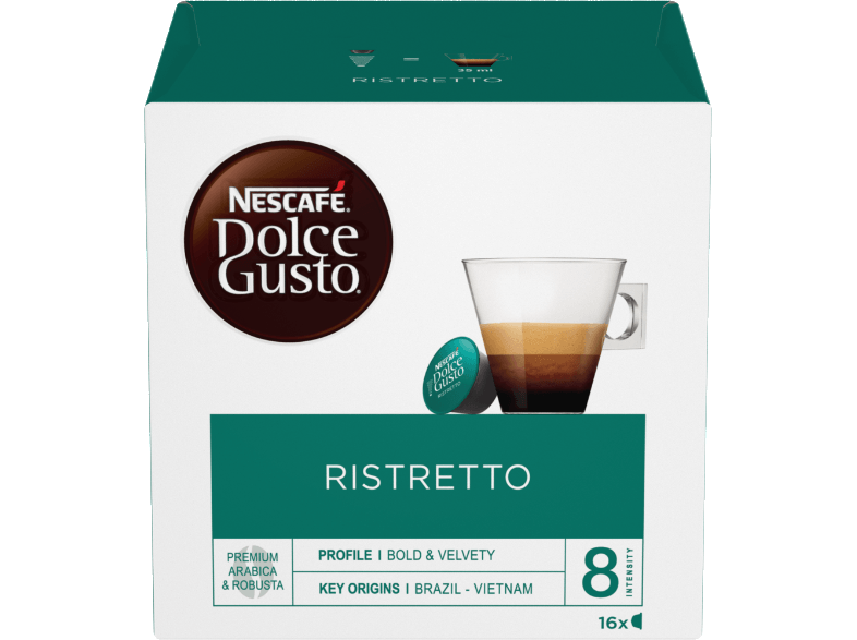 DOLCE GUSTO NESCAFE RISTRETTO κάψουλες dolce gusto