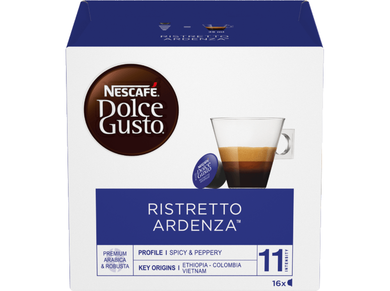 DOLCE GUSTO NESCAFE RISTRETTO ARDENZA κάψουλες dolce gusto