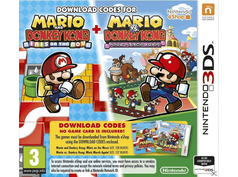 NINTENDO SW Mario and Donkey Kong: Minis On The Move games 2ds  3ds