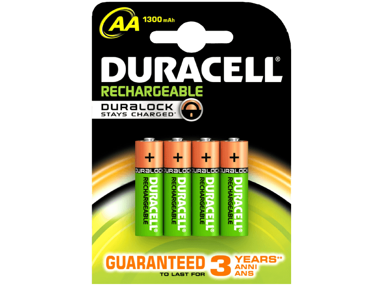DURACELL 4x AA 1300mAh - (81418230) μπαταρίες  φορτιστές