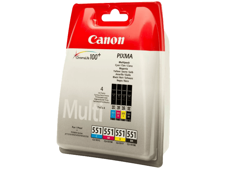 CANON CLI-551 Multi Pack - (6509B009) μελάνια  toner