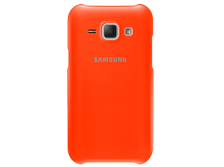 SAMSUNG J1 Protective Cover Orange - (EF-PJ100BOEGWW) θήκες  μεμβράνες samsung