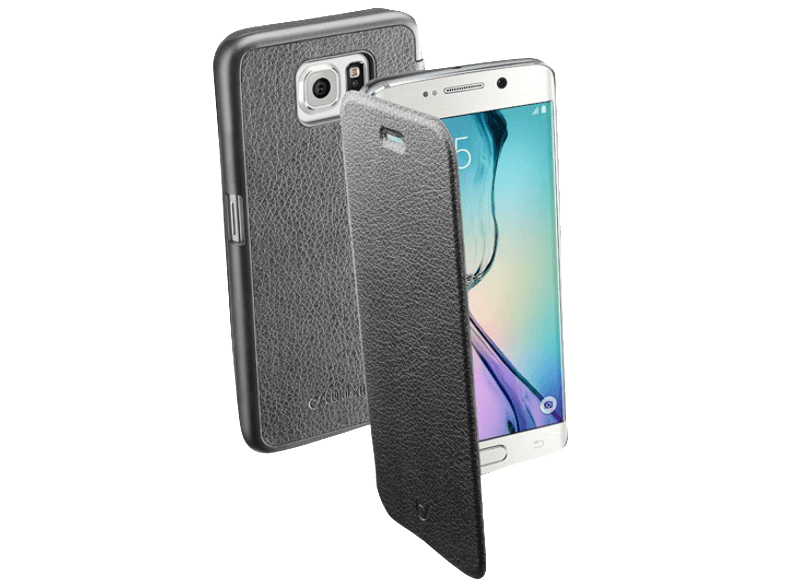 CELLULAR LINE Θήκη Book Leather Edge BOOKESSGALS6EK BLK - ( 00.240669) θήκες  μεμβράνες samsung