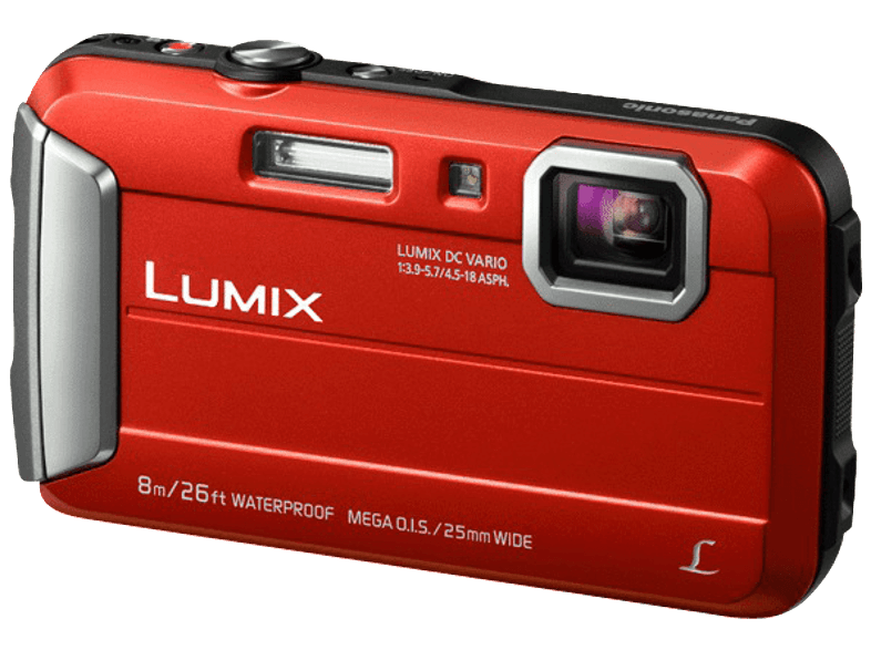 PANASONIC DMC-FT30EG-R Red compact cameras